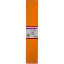 Бумага гофра 2мх50см 20% 1 Вересня  флуоресцентная оранжевая (10) №705398