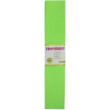 Бумага гофра 2мх50см 20% 1 Вересня флуоресцентная салатовая(10) №705402