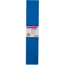 Бумага гофра 2мх50 см 20 % 1 Вересня флуоресцентная синяя (10) №705409