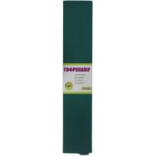 Папір гофра 2 м х50 см 110% 42г/м2 1 Вересня (зелений) (10) 701543