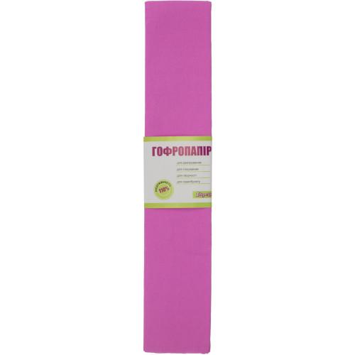Папір гофра 2 м х50 см 110% 42г/м2 1 Вересня (рожевий) (10) 701542