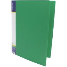 Папка-усы Economix CLIP A Light A4 пластиковая с 1 карманом зеленая (1) (20) (120) №E31207-04