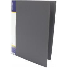 Папка-усы Economix CLIP A Light A4 пластиковая с 1 карманом серая (1) (20) (120) №E31207-10
