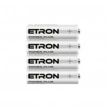 Батарейки Etron Power Plus AA-P4 R-06 плівка 4 шт (15) (300)