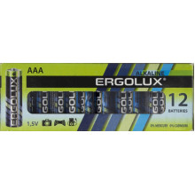 Батарейки ErgoluxLR-03/коробка 12 штук (12) №1034