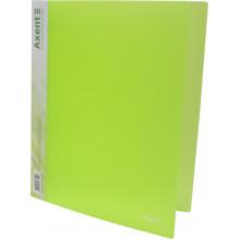 Папка на 4-х кольцах Axent А4 d-35 мм зеленая (1) (10) №1208-26-А