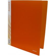 Папка на 4-х кольцах Axent А4 d-35 мм оранжевая (1) (10) №1208-25-А