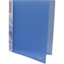 Папка на 4-х кільцях Axent А4 d-35 мм синя (1) (10) 1208-22-А