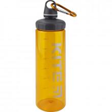 Пляшка для води пластикова Kite 750 мл помаранчева (12) К19-406-07