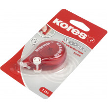 Коректор стрічковий Kores Scooter 4,2х8м червоний (10) №К84823