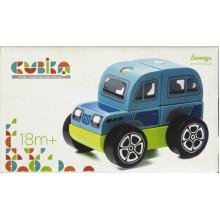 Іграшка дерев'яна Машинка Позашляховик Cubika LM-9/13180