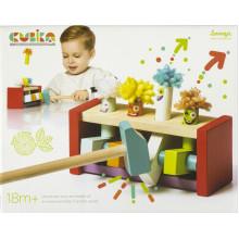 Игрушка деревянная Клоуны-прыгунки №13746