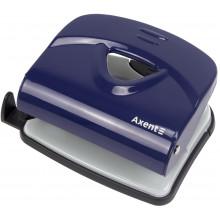 Дирокол Axent Exakt-2 30 аркушів металевий синій (6) 3930-02