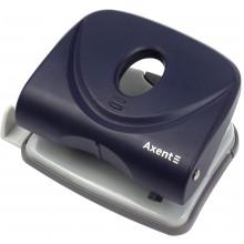 Дирокол Axent Welle-2 30 аркушів з пластиковим верхом синій (6) 3830-02