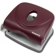 Дирокол Axent Welle-2 30 аркушів з пластиковим верхом червоний (6) 3830-06