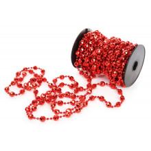Ожерелье новогоднее 10 ммх10 м красное (12) (24) /Bonadi/ №147-714/4461