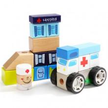 Игрушка деревянная звуковые блоки Отделение скорой помощи Top Bright (4) №150178