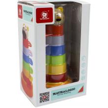 Игрушка разноцветная вежа 2в1 пластиковая Top Bright (16) №120322