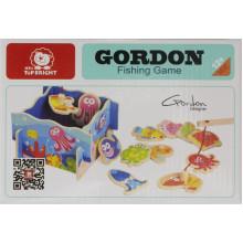 Іграшка дерев'яна Рибалка на магніті Top bright 7141