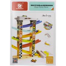Іграшка дерев'яна вежа Швидкісний спуск, 5 поверхів Top Bright 120334