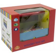 Игрушка деревянная ящик с инструментами 14 деталей Hongji №HJD931296/0698201