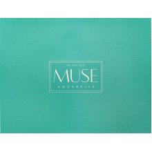 Альбом для акварели склейка 15 листов A4+ Muse Aquarelle Школярик (44) №PB-GB-015-037