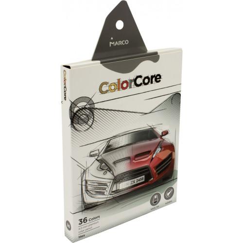 Олівці кольорові 36 кольорів Marco (4) (48) E3000-36CB-A