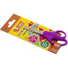 Ножницы детские Умка 12,7 см фиолетовые (24) НЦ404-07