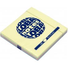 Блок для заметок с липким слоем 75х75мм 100 листов rainbow GN Global Notes (12) №3654-98-pk1-b