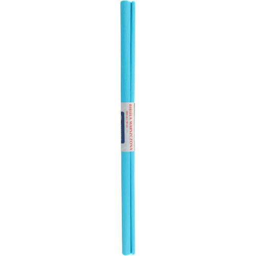 Папір гофра 2мх50 см лазурний Interdruk (10) 20/990770