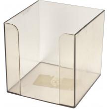 Куб для паперу Арніка 9х9х9см димчастий порожній (1) (36) 83031