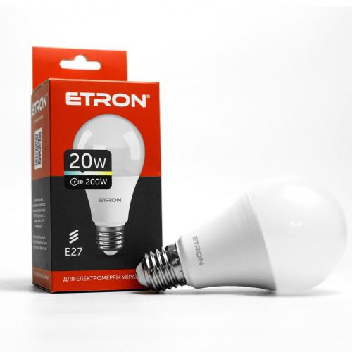 Лампа Etron Light Power LED 1-ELP-002 A70 20Вт 4200K E27 (10)