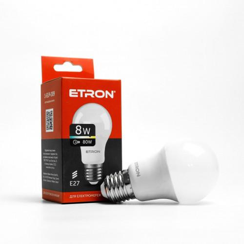 Лампа Etron Light Power LED 1-ELP-009 A55 8Вт 3000K E27 (10)
