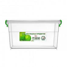 Контейнер для пищевых продуктов 5 л с ручками 20,4х28,5х14 см (20) №NP-61/0297