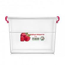 Контейнер для пищевых продуктов 7л с ручками 20,4х28,5х20 см (16) №NP-63/0242