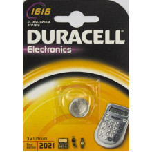 Батарейка Duracell Алкалайн CR-1616/1bl Electronics (10)