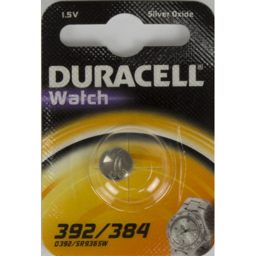 Батарейка Duracell Алкалайн SR-392/1bl AG3 Watch (10)
