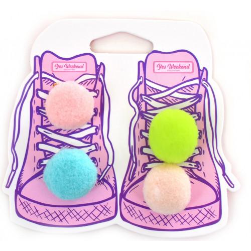 Набор аксессуаров для шнурков  Yes Weekend  Fluffy (6) №555842