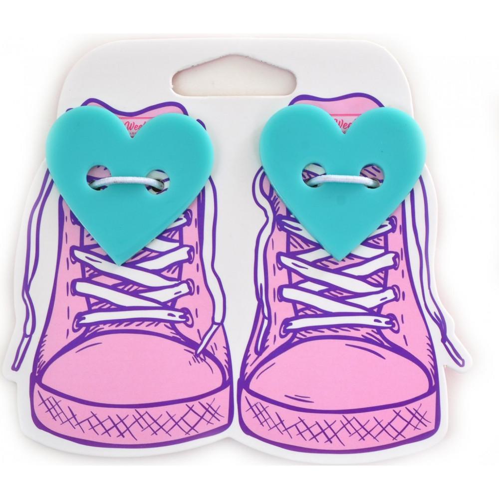 Набор аксессуаров для шнурков  Yes Weekend  Heart (6) №555818