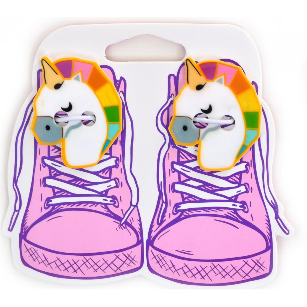 Набор аксессуаров для шнурков  Yes Weekend  Unicorn (6) №555816