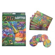 Гра настільна 1 Вересня Funny loto TMNT Dino №953695