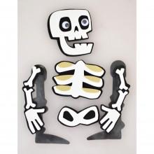 "Набор стикеров для Хэллоуина ""Yes! Fun"" Скелет №973528"