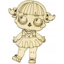 Кукла Лол ассорти 10х5 см фанера (5)