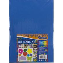 Фоамиран А4 J.Otten синий толщина 2 мм EVA клейкий (10) №20KA4-038