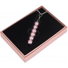 Ручка шариковая Langres Secret с кристаллами, розовая, в подарочном футляре №401021-10