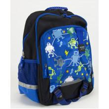 Рюкзак Dr.Kong ортопедична спинка, 2 відділення, 1 кишеня синій S (5) Z1100058/970413