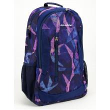 Рюкзак Dr.Kong ортопедична спинка, 2 відділення, 1 кишеня фіолетовий ХL (5) Z1400017/970433