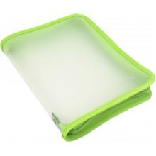 Папка на молнии пластиковая Economix B5 салатовая (20) №E31645-13