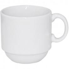 Чашка керамічна 80 мл біла S&T (12) (48) 1364
