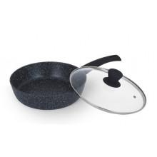 Сковорода алюминиевая антипригарное покрытие Ringel Koriander 26 см с крышкой (6) №RG-1107-26/14821